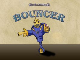Legendary Bouncer from Skylanders Giant by Pegarissimo