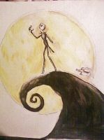 The Nightmare Before Christmas by Panicatthedisco7