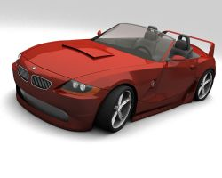 BMW Z4 - Customized by ya3