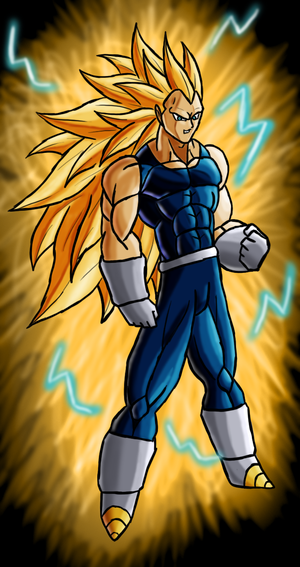 dragon ball z super saiyan 3 gohan. dragon ball z vegeta super