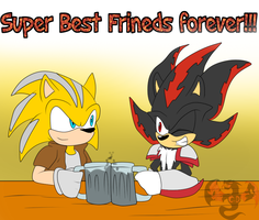 Super Best Friends forever!!! by ColorDrake