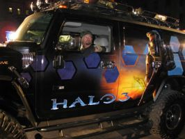 Halo 3 Hummer by Tropic-Lightning
