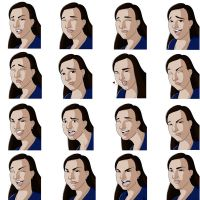 Facial Expressions Commission by meiken