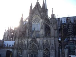 Cathedral in Cologne Germany 2 by OakEvolution
