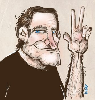 Robin Williams by deedydido