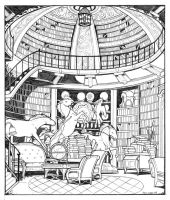 The Dome Library by kiraxlee