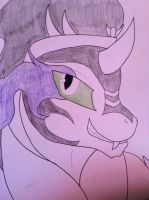 King Sombra(wip) by Turtlewuff