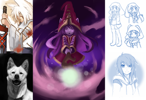 Drawing Dump of Incompleteness and Procrastination by Miirkat