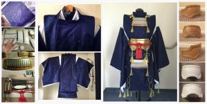 General WIP of Mikazuki Munechika Cosplay by Fantalusy