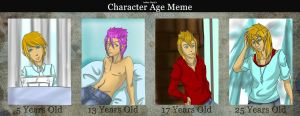 Age Meme: Brian White by NeonxSpirit