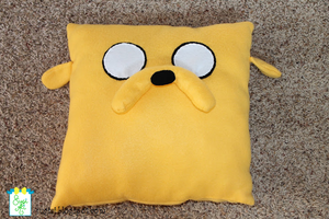Adventure Time Jake Pillow by SugiAi
