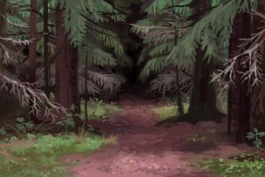 The smell of soil and spruce needles by jjnaas
