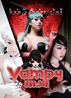 Vampy Con Postcard by VampBeauty