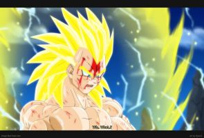 Vegeta First Grade SSj3 by Elyas11