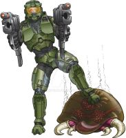 Master Chief for Game Freaks by JCSArtCan