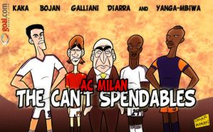 AC Milan star in The Cant Spendables by OmarMomani