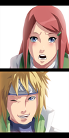Kushina and Minato by StingCunha