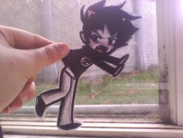 Hand: Get Karkat off of this window. by LyraeChan