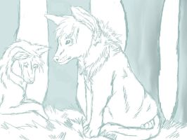 WolfCrushs Request WIP by Bacon-Paws