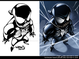 LITTLE_VENOM_for_red-j by totmoartsstudio2