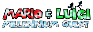 Mario and Luigi Millennium Quest Logo by KingAsylus91