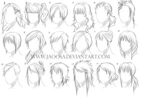 Hairstyles 03 by jaoosa