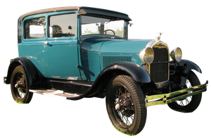 Old car I - FORD A by tailcat