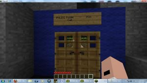 Minecraft Doors of the Tardis by Jinzo-776