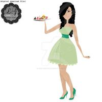 Party Hostess - OOAK Logo by nenalinda82pr