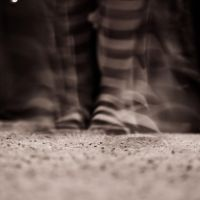 Striped Stockings by Cinestress