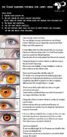 Eye color changing tutorial for GIMP users by KungfuHamster