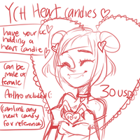 Ych Heart Candies by temporaryWizard