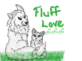 Fluff Love by Meeowy