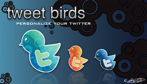 Tweet Birds by jossotdesign