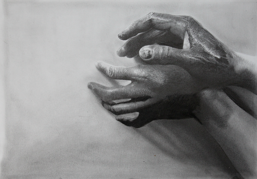Painted hands 1 by joanlondono