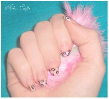 the french meow - Nailart by neko-crafts