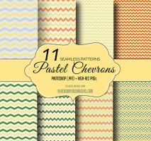 Free Pastel Chevron Zigzag Patterns by fiftyfivepixels