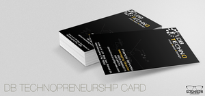 DB TECH Business Card by xXFranciSoshiXx