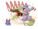 PKMNation - Let me cling to you! by Daffupanda
