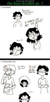 The Host Doodlez, pt. 1 by sunni-sideup