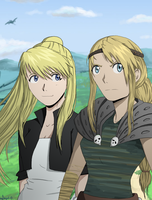 Gift - Two Tough Blondes by JenBeee