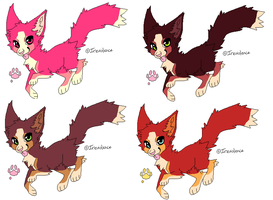 Four Adopts 5 Closed! Burnese Mountain dogs! by Jinx1223