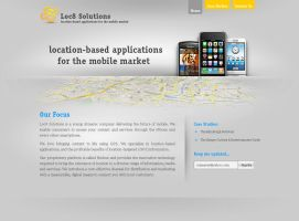 Loc8 Solutions - website by xtianares