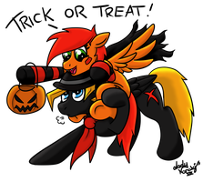 Trick or Treat! by LadyNanaki