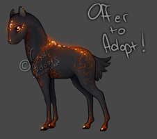 Ignius - Offer to Adopt! [CLOSED] by CoyoteAdopts