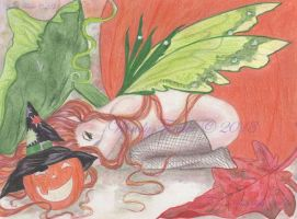 Saucy Fairy by OtherWorldsArt