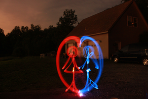 Light Painting by morphinetears36