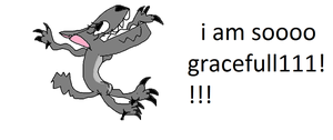 I'M SO GRACEFULL!!!111 by Me-MowTheCat