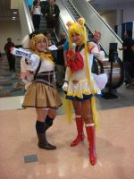 Sailor Moon Supers meets Mami Tomoe! by Gubreez