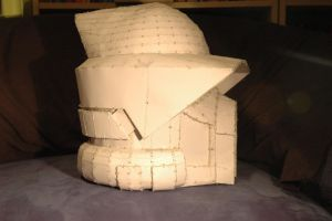 Arf-Trooper Helmet Pepakura (2/2) by Techxu